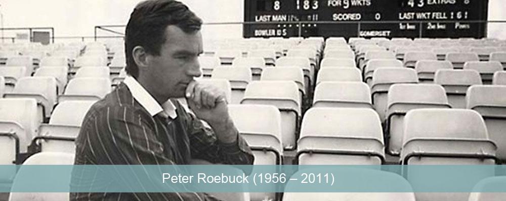 Peter Roebuck 1956-2011