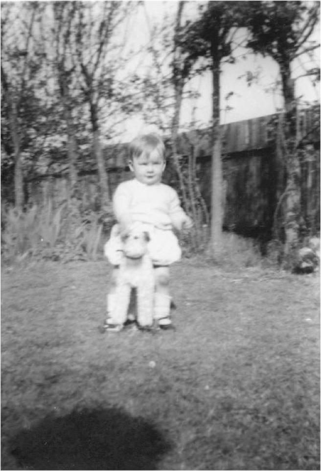 Peter Roebuck as a child