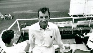 Cricketer Peter Roebuck