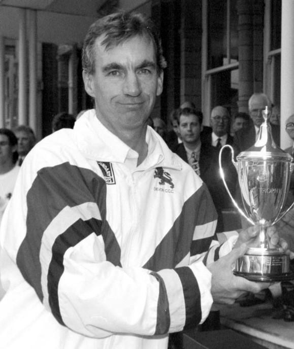 Peter Roebuck at Devon