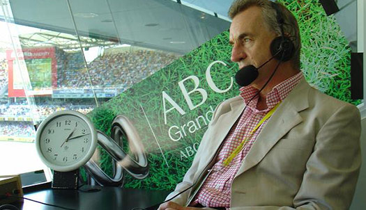 Peter Roebuck cricket commentator