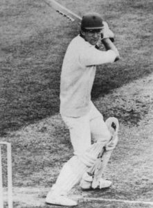 Roebuck batting at Lord's 1982