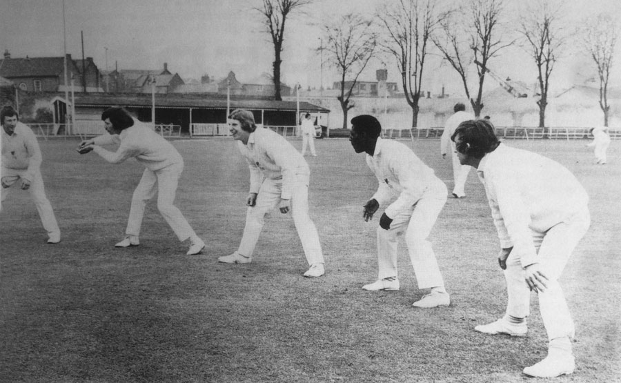 Somerset CCC new recruits 1974