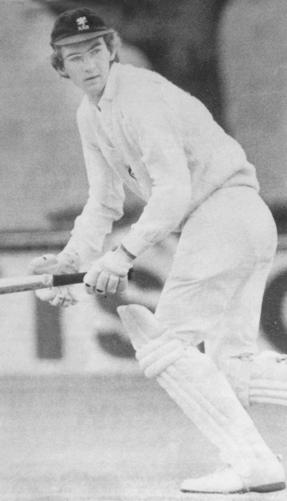 Roebuck batting in 1977