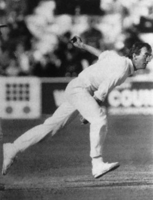 Roebuck bowling delivery