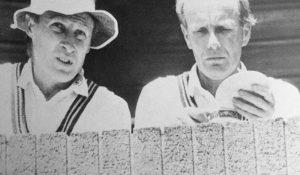 Vic Marks and Jack Birkenshaw