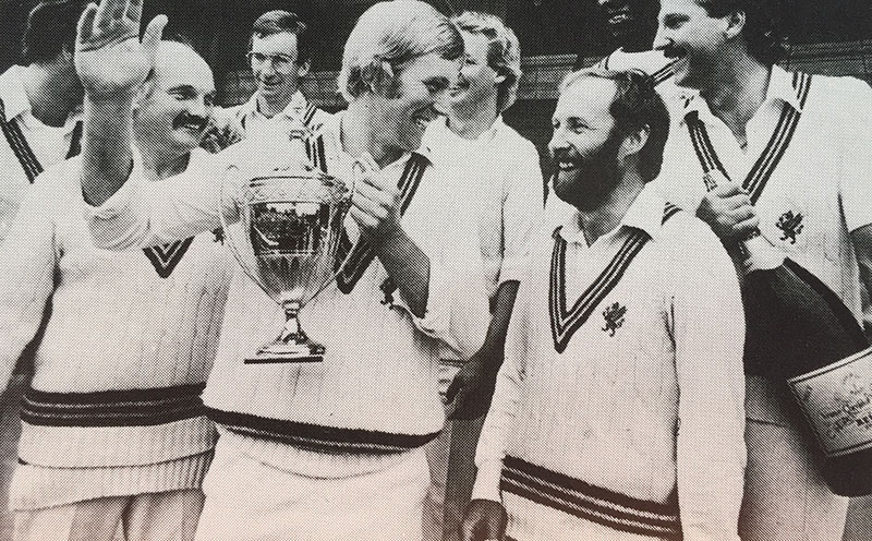 Somerset CCC celebrating at Lord's
