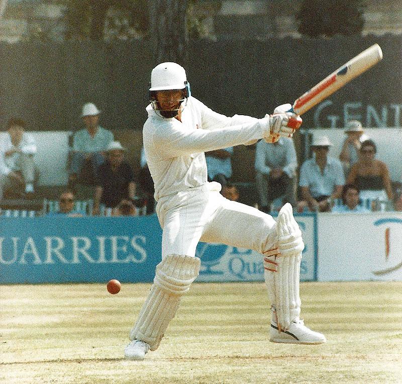 Peter Roebuck batting