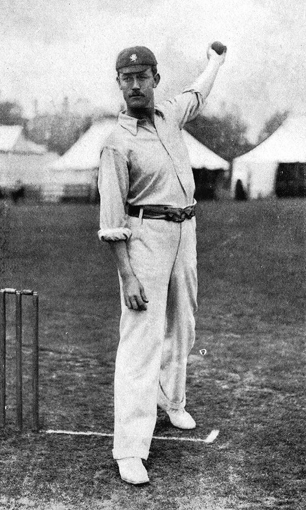 Edwin J Tyler, cricketer for Somerset