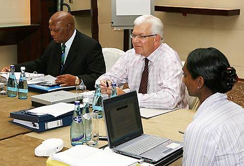 ICC executive meeting 2008