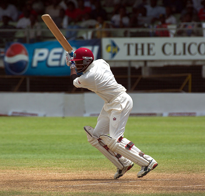 Cricketer Brian Lara