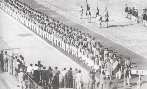 First Asian Games opening ceremony