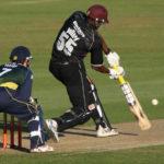 Kieron Pollard batting
