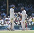 Sachin Tendulkar and Harbhajan SinghSingh